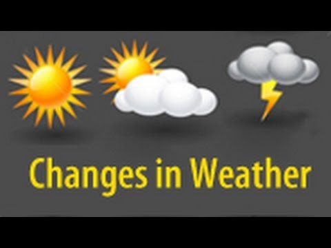Changes in Weather