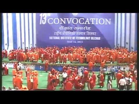 Convocation NIT Silchar 2015