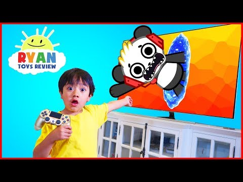 Ryan and Combo Panda jumped into the TV + New Gaming Channel VTubers with Ryan ToysReview