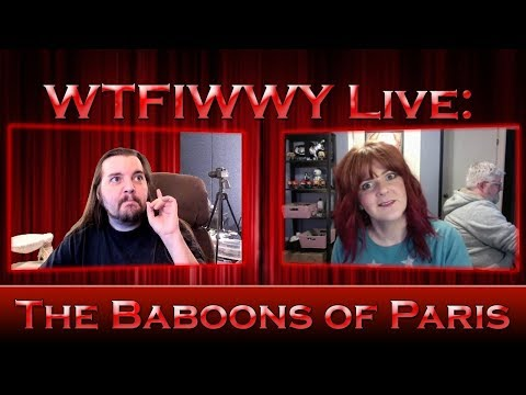 WTFIWWY Live - The Baboons of Paris - 1/29/18