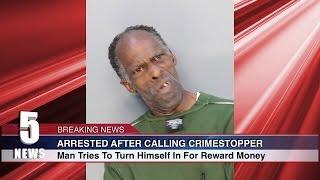 Man tries to turn himself in for REWARD MONEY $$$