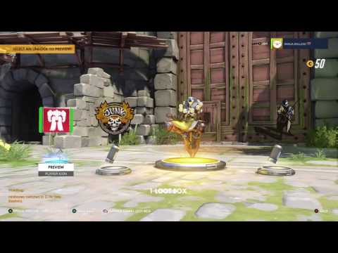 BACK TO BACK GOLD!!!(OVERWATCH)