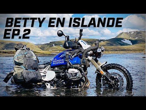 BETTY PREND L'EAU EN ISLANDE  ► BETTY TAKES ON WATER IN ICELAND