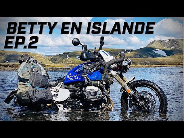 BETTY PREND L'EAU EN ISLANDE  ► BETTY TAKES ON WATER IN ICELAND