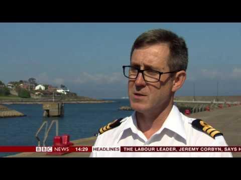 Matthew Bryce's Rescue (BBC News Clip)