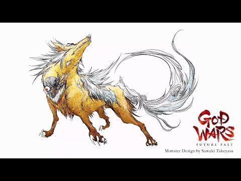 GOD WARS Future Past — Concept Illustration Video (PS4, PS Vita)