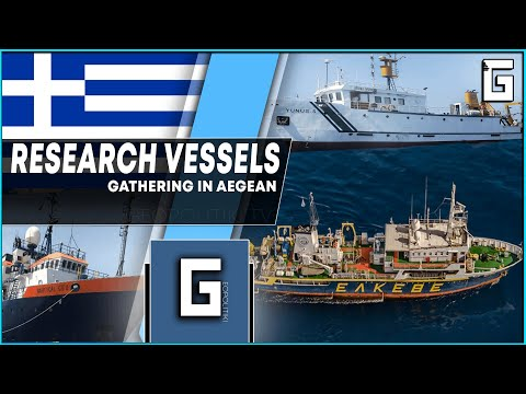 MORE AND MORE RESEARCH VESSELS GATHER IN AEGEAN