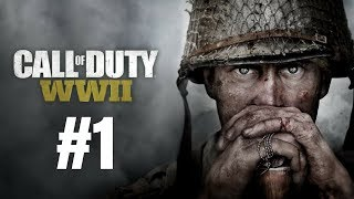 Call of Duty: WWII Walkthrough Gameplay Part 1 – Mission 1: D-Day PS4 Full HD – No Commentary