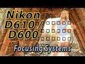 Nikon D610 / D600 Focus Squares Tutorial | How to Focus Training Video