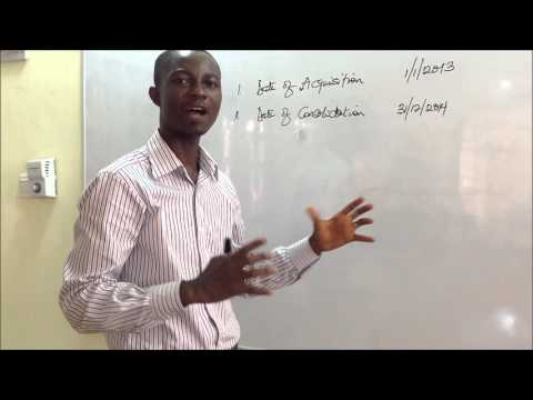 Principle of Consolidation - Part 1