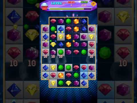 Jewel Quest 2018.  Levels 1-6. Android Gameplay