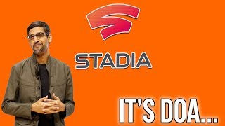 Google Stadia Has Only Been Out For A Couple Months, And It's Already DOA