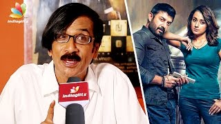 Why Aravind Swamy replaced Natty Natarajan in Sathuranga Vettai 2 : Manobala Interview | Trisha