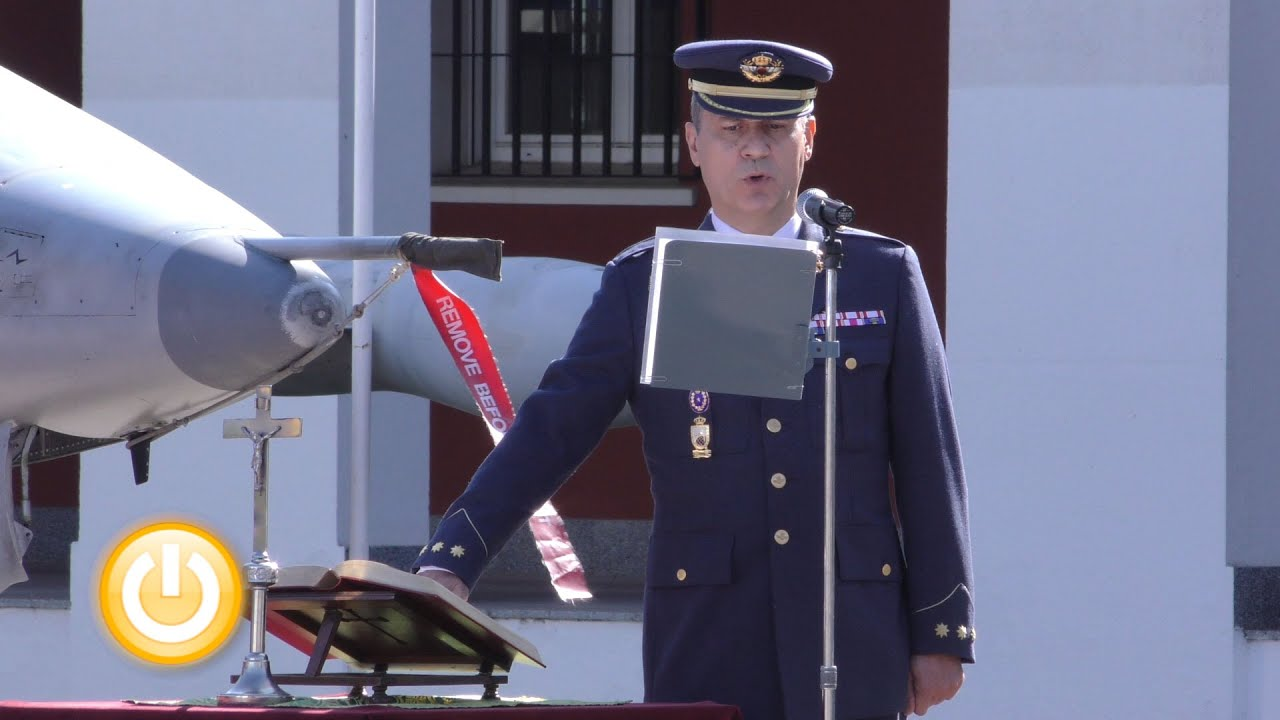 Francisco ba os nuevo coronel de la base a rea de talavera - Coronel banos ...