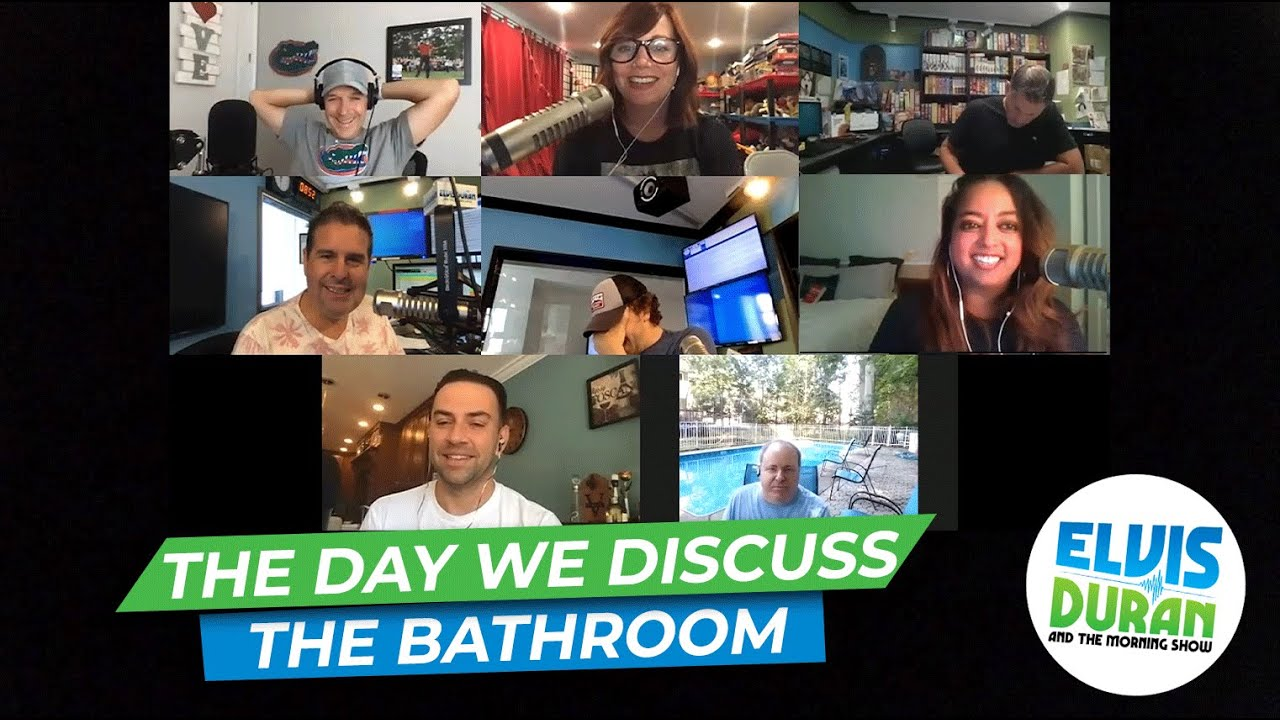 The Day We Discuss The Bathroom   15 Minute Morning Show