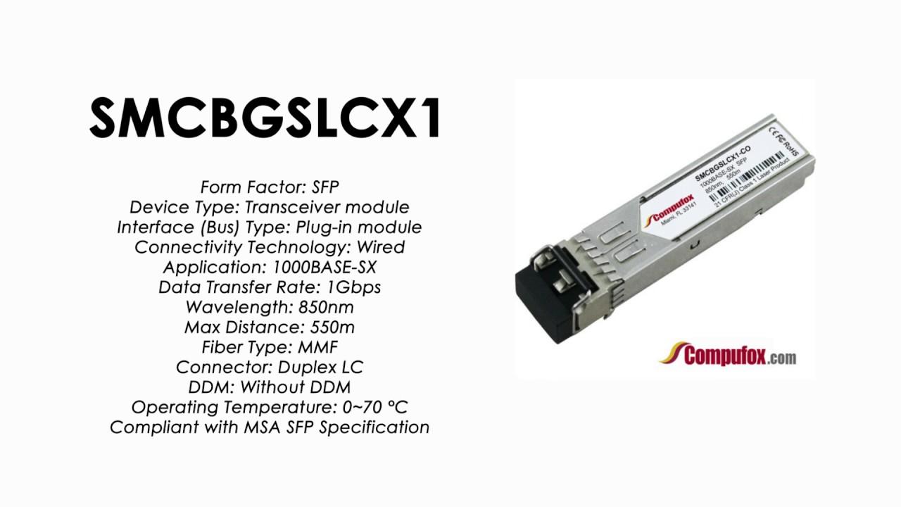SMCBGSLCX1 SMC 100/% Compatible