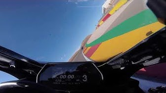 Marvin Fritz | Onboard Aragon with Horst Saiger | Yamaha Riding Academy