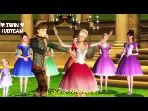 [Vietsub+Kara] Shine - OST Barbie in the 12 dancing princesses Mp3