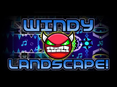 Geometry Dash Insane Demon - Windy Landscape - By WOOGI1411