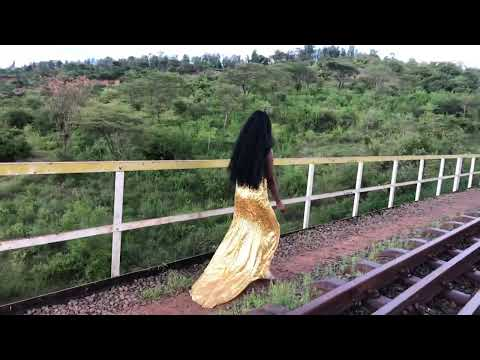 FASHION BEHIND THE SCENE AT MURANGA MARAGUA LUNATIC RAILWAY DESERTED TRAIN BRIDGE BESIDES KENGEN