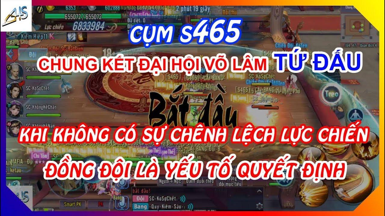 Download VLTK Mobile - [Cụm S465] Chung kết đại hội võ lâm tứ đấu mùa 3 | Mãn nhãn những trận đồng lực chiến