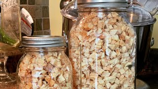 Dehydrating Apple Bits for The Pantry - Excalibur Dehydrator ~ The Kneady Homesteader