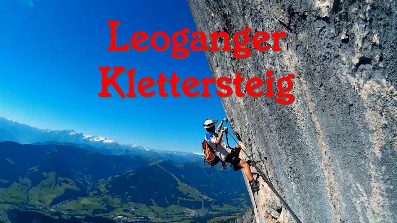 Klettersteig Johann Topo : Leoganger klettersteig süd u. nord youtube