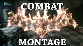 Batman Arkham Knight Combate Montaje