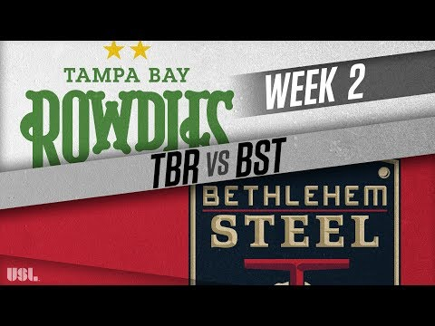 Tampa Bay Rowdies vs Bethlehem Steel FC: March 24, 2018