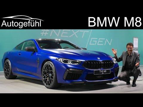 BMW M8 Coupé vs Cabriolet Premiere REVIEW Exterior Interior comparison - Autogefühl