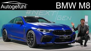 BMW M8 Coupé vs Cabriolet Premiere REVIEW Exterior Interior comparison - Autogefühl