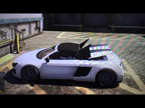 Машины с открывающийся крышей в GTA 5