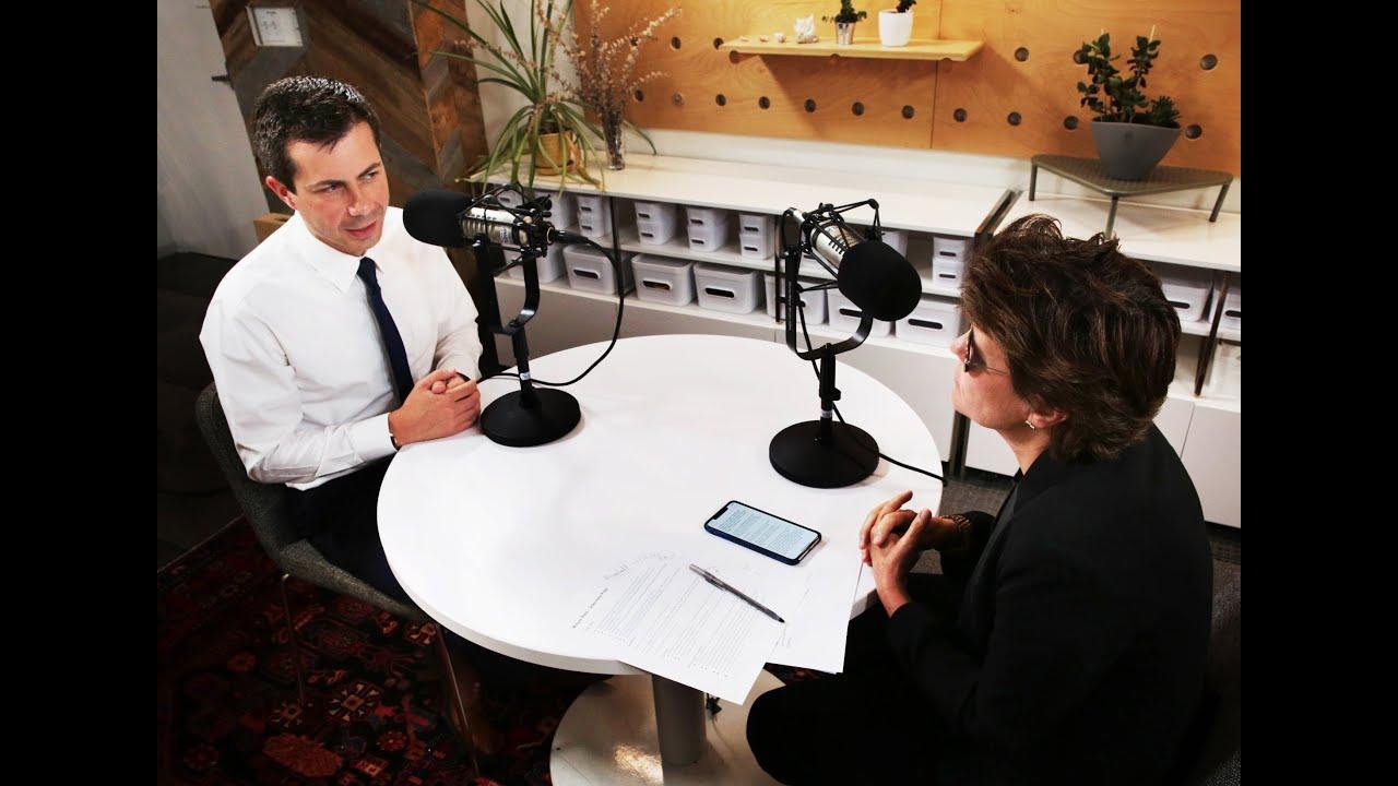 Mayor Pete Buttigieg on Kara Swisher podcast Recode Decode