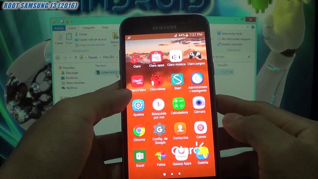Rootear Samsung Galaxy J3 ( 2016 ) J320M / J320F /J320G ( Super User /  Super Usuario / Root)