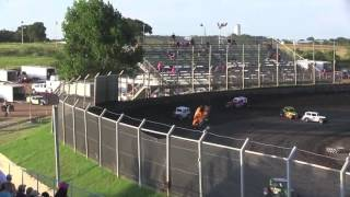 Kennedale Speedway Park Dwarf Car Crash