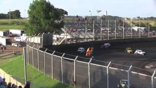 Kennedale Speedway Park Dwarf Car Crash
