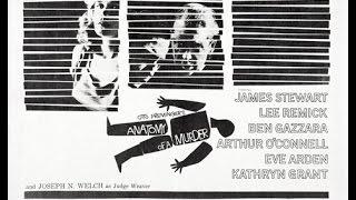 Anatomy Of A Murder - drama - 1959 - trailer