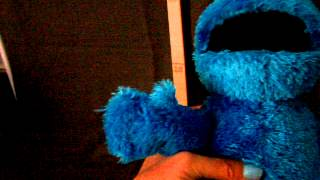 Playskool  Sesame Street Squeeze A Song Cookie Monster- beszélő éneklő sütiszörny