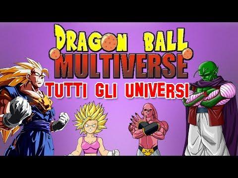 Dragon Ball Multiverse: TUTTI GLI UNIVERSI!