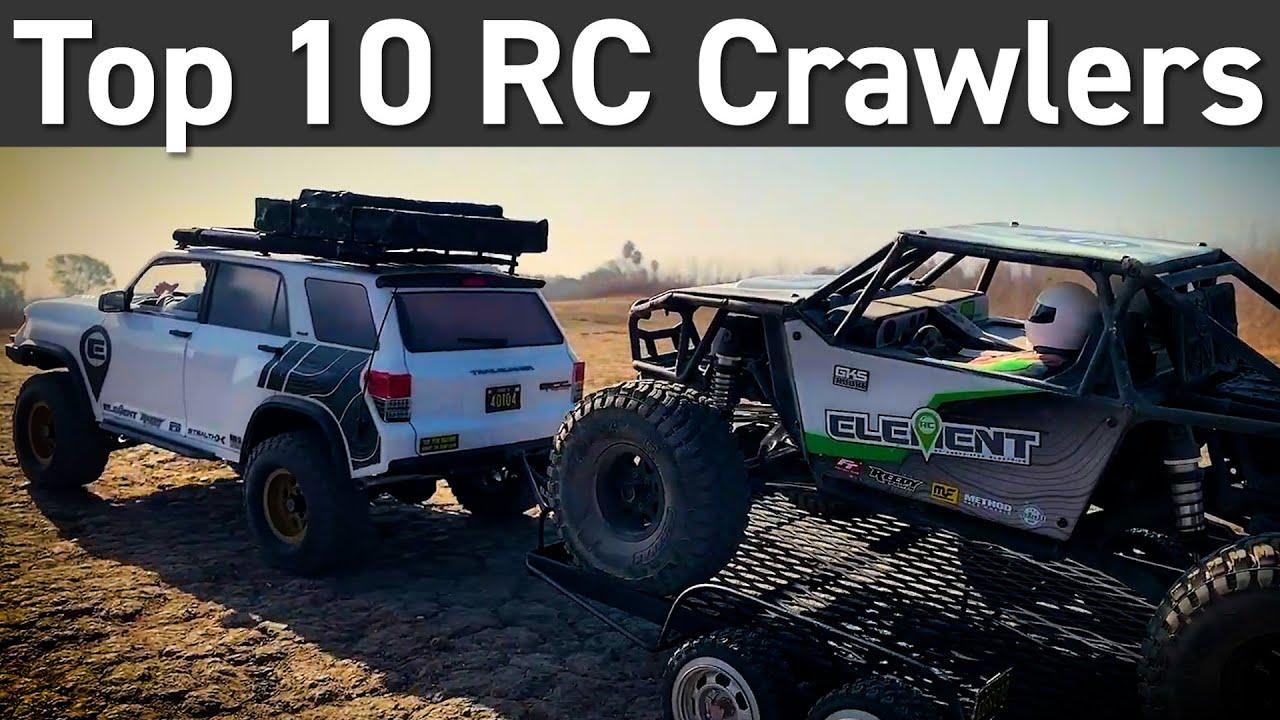 Top 10 Rc Rock Crawlers Youtube