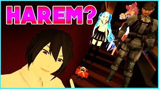 VRCHAT ♡ WAIT A SEC ! HAWXX HAS STARTED A HAREM? ♡ FUNNY MOMENTS & BEST HIGHLIGHTS (Virtual Reality)