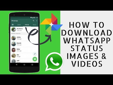 How To Download Whatsapp Status Images Videos In Gallery