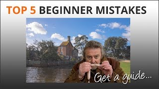 Top 5 Beginner Photographer Mistakes - Mike Browne