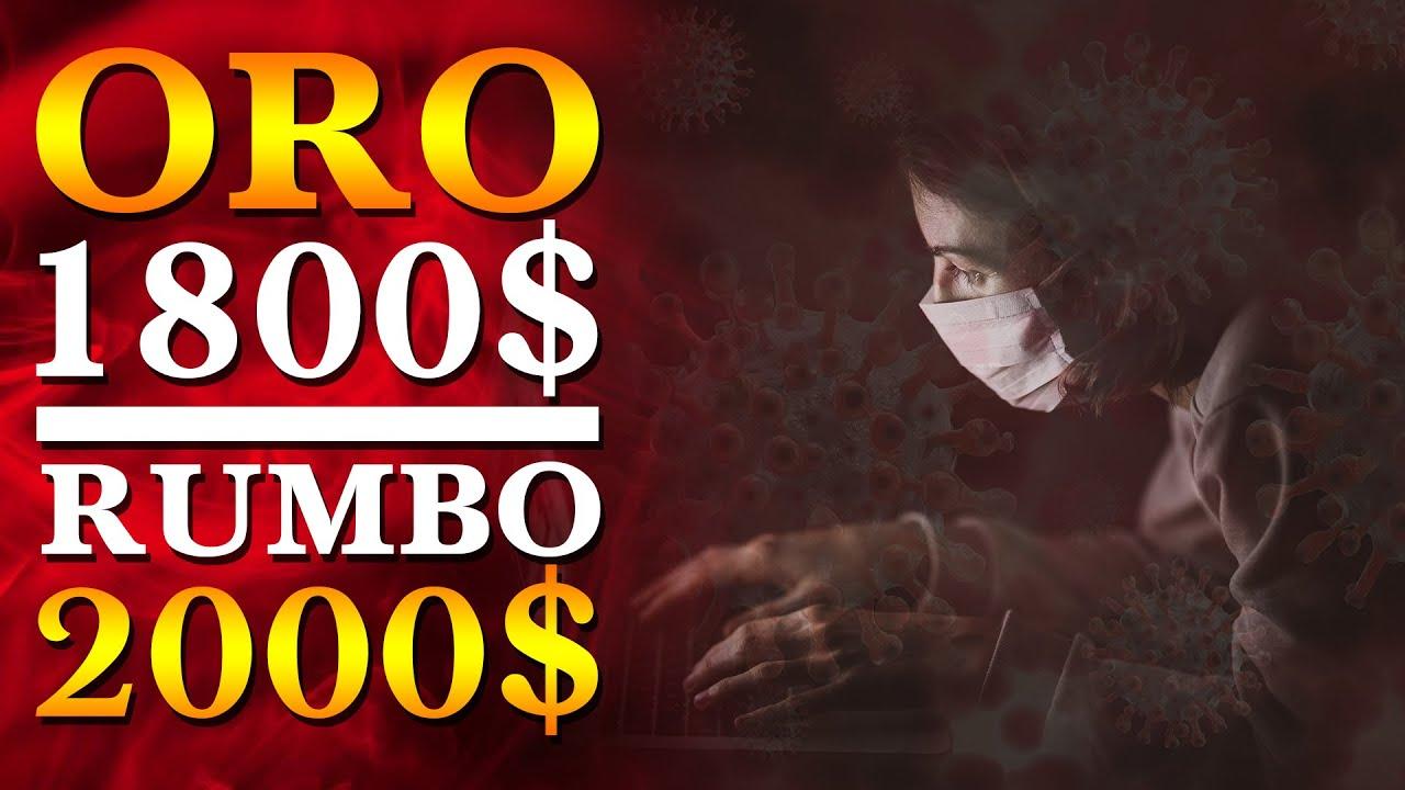 RUMBO DEL ORO HACIA PRECIOS RÉCORD - ROMPIÓ LOS 1800$