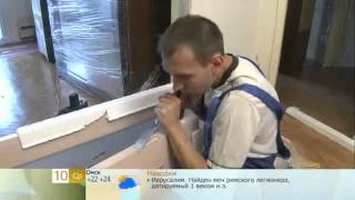 Установка распашной двустворчатой двери(Строительный портал http://donosvita.org/ представляет видео о том как установить распашную двустворчатую дверь., 2012-04-17T09:20:46.000Z)