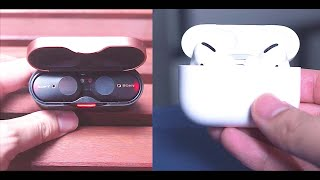 Apple Airpods Pro vs Sony WF-1000xm3 - Best Noise Cancelling Earbuds