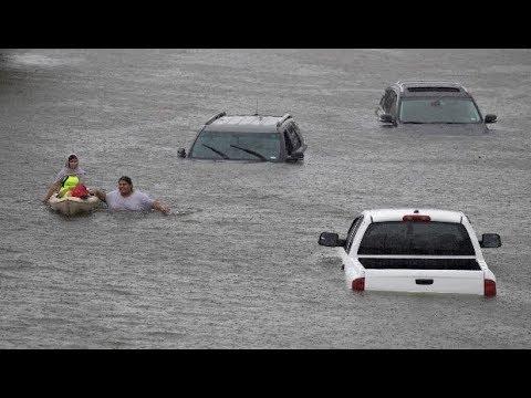 Mainstream Media Misrepresents Hurricane Harvey's Climate Change Connection