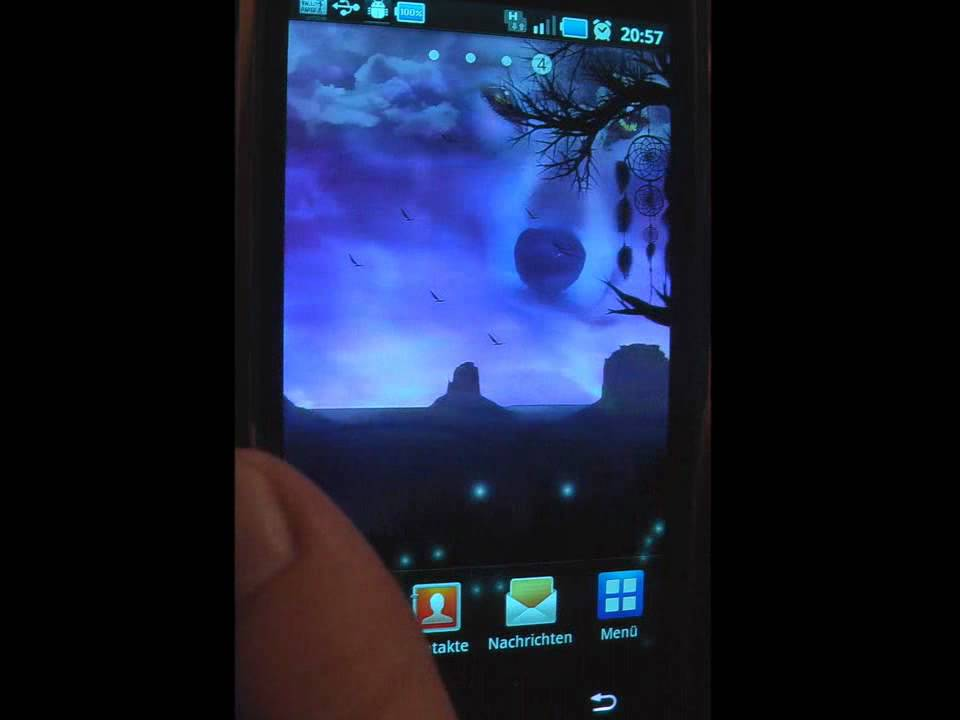 Live Wallpaper Native Americans Version 2.34 for android on samsung galaxy s-9000.wmv - YouTube