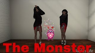 The Monster // клип // Avakin Life Music Video