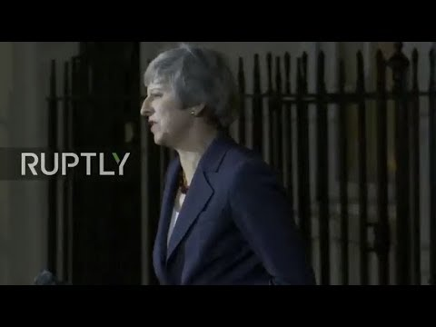 LIVE: Theresa May gives statement following special Brexit meeting